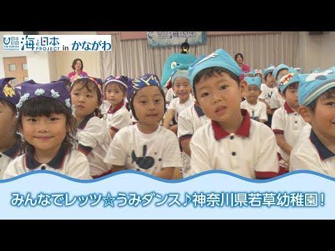 「みんなで踊ろうレッツ☆うみダンス!」神奈川県若草幼稚園 日本財団 海と日本PROJECT in かながわ 2018