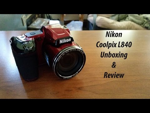 Nikon Coolpix L840 Unboxing/Review