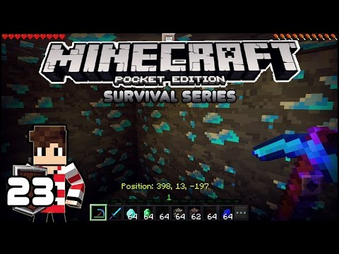 Video MENENTUKAN KORDINAT BERBURU DIAMOND DALAM 1 DETIK! - MINECRAFT POCKET EDITION SURVIVAL SERIES (23)