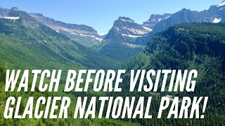 Watch before visiting Glacier National Park | 2020 updates