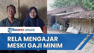 Sosok Guru di Ngawi yang Tinggal Seatap dengan Kambing, 17 Tahun Jadi Guru & Rela Digaji Rp350 Ribu
