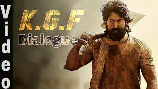 Download KGF Dialogue Video | KGF | Yash | KGF Dialogue