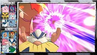 Pyroar  - (Pokémon) - HYPER BEAM PYROAR & AV HARIYAMA! (Pokemon X and Y Wifi Battle) #54 Xenon3120 vs Craig