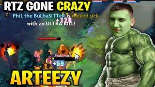Arteezy Gone CRAZY MODE - 3x ULTRAKILL Can