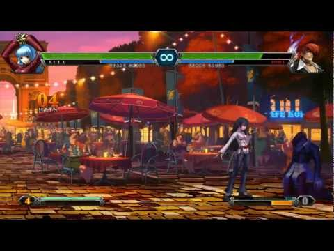 The King Of Fighters XIII Combos Go Great With Your Opponent's Health Bar