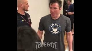 MMA Слова Чейла Соннена после боя против Федора Емельяненко на пресс-конференции