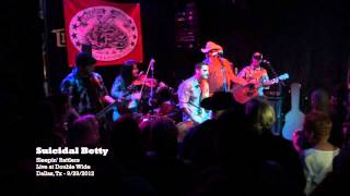 Sleepin' Rattlers - Suicidal Betty (clip) - (Live 9/29/2012)