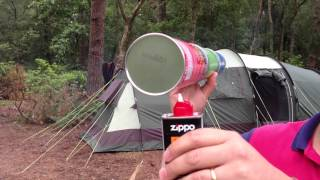 How to make a homemade Pringles Can Tennis Ball Launcher FULL VERSION