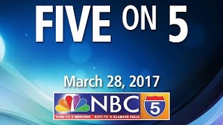 Five on 5 with David Mulig (ACCESS) & Natalie Weber (NBC5)