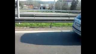 preview picture of video 'Car Crash in Poland - Wejherowo - Reda 24.04.2012'