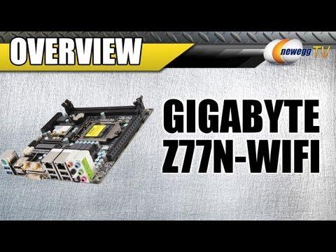 Newegg TV: GIGABYTE GA-Z77N-WIFI LGA 1155 Intel Z77 Mini ITX Motherboard Overview