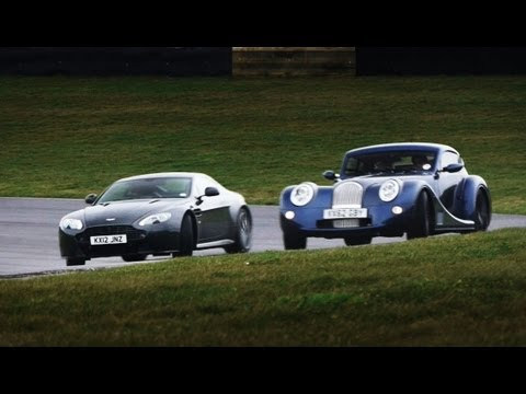 Aston Martin V8 Vantage S vs Morgan Aero Coupe
