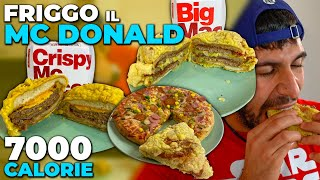 FRIGGO IL CIBO DEL MCDONALD'S E LA PIZZA - FOISMEALTIME #3