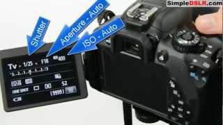 How to Use a DSLR Camera: Learn DSLR Camera Basics Shutter Aperture ISO