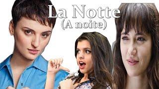 """A noite"" Tie em italiano  -  La notte  Arisa - canta Mariana"