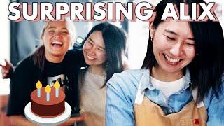 I Made Alix A Surprise Birthday Cake