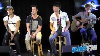 "102.7 KIIS-FM: Big Time Rush ""Windows Down"" Live Acoustic"