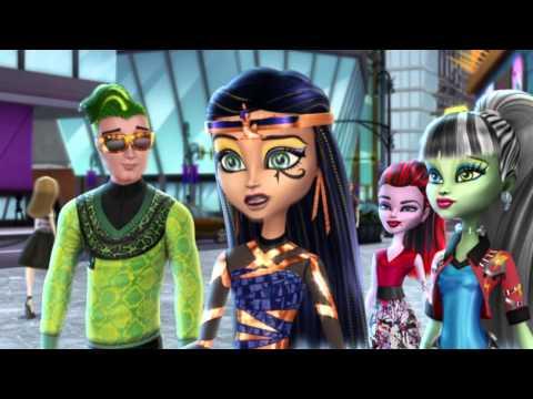 Клео И Дьюс.Monster High .Клип-Ты не такой!