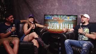 Gambar cover Nina and Niko Interview Jason Aldean Country Thunder 2018