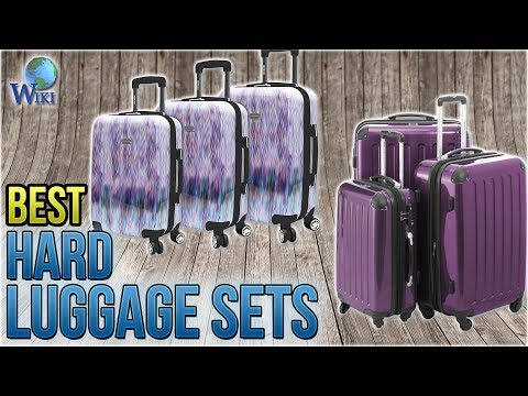 10 Best Hard Luggage Sets 2018