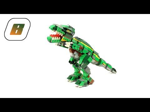 Vidéo LEGO Creator 4998 : Le stégosaure