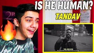Is He Human Reacting To Tandav Dino James Ft Girish
