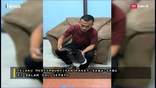 Gelagat Mencurigakan, Dua Pria Ini Simpan Paket Sabu Dalam Sepatu Part 01 - Indonesia Border 04/05