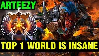 TOP 1 WORLD IS INSANE - Arteezy Troll Warlord - Dota 2
