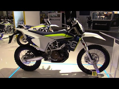 2016 Husqvarna 701 Enduro - Walkaround - Debut at 2015 EICMA Milan