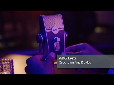 AKG Lyra: Create on Any Device
