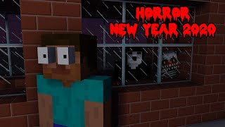 Monster School : HAPPY NEW YEAR 2020 BUT HORROR - Minecraft Animation