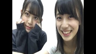 SHOWROOMAKB48後藤萌咲HKT48岩花詩乃170902