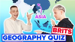 Brits Try To Label A Map Of Asia