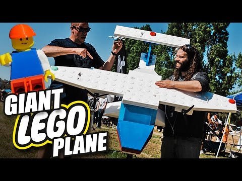 An Aerospace Engineer Turned A Classic LEGO Set Into An RC Plane That Actually Flies