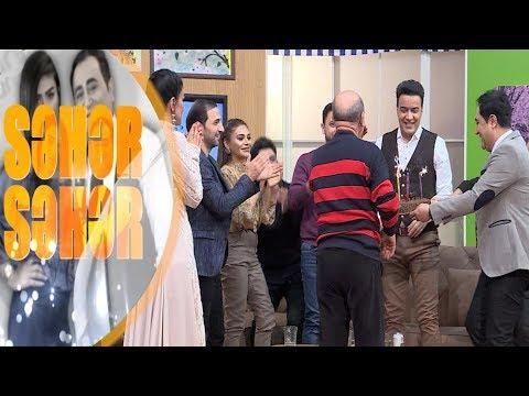 İranli mugenniye efirde ad gunu kecirildi - Seher-Seher