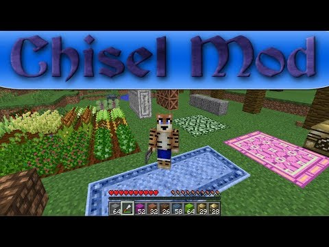 Chisel Mod Showcase (Minecraft 1.12.2)