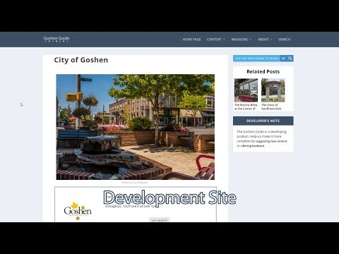 Goshen.Guide: Changing the Culture of Information