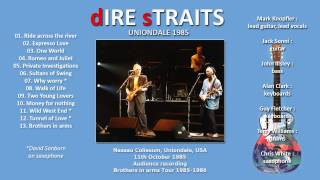 """Dire Straits """"Tunnel of Love"""" 1985 Uniondale (24 minutes!) AUDIO ONLY"""