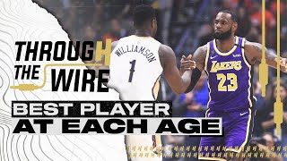 Best NBA Player at Each Age   Through The Wire Podcast