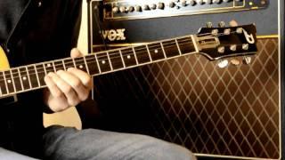 Playing Duesenberg Guitar!