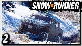 SNOWRUNNER ❄️ WINTER-Landschaft in ALASKA! ► GAMEPLAY Offroad Simulator #2