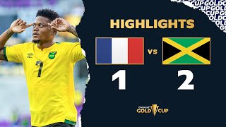 Gold Cup 2021 : résumé Guadeloupe - Jamaïque (1-2)