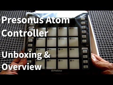 Unboxing & Overview of the Presonus Atom MIDI Controller