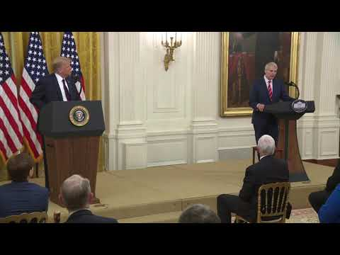 Senator Portman Delivers Remarks at White House Signing of Great American Outdoors Act