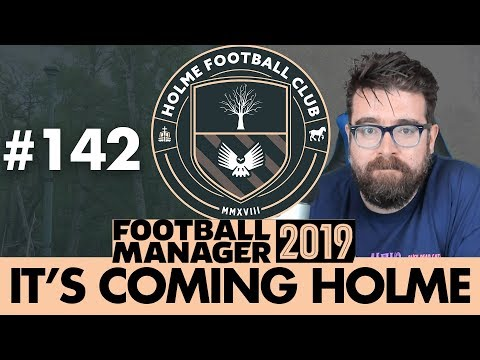 HOLME FC FM19 | Part 142 | SPORTING LISBON | Football Manager 2019