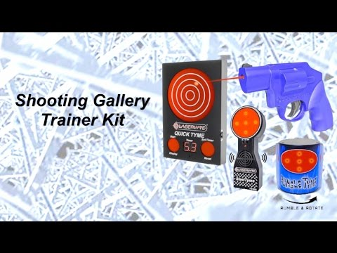 LaserLyte Shooting Gallery Trainer Kit