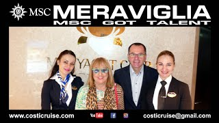 MSC MERAVIGLIA & YACHT CLUB VIRTUAL Tour