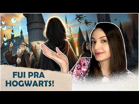 CHEGUEI, HOGWARTS! - Harry Potter Hogwarts Mystery | Sarah Hosken