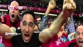 Türkiye 1 - 0 İzlanda - Selçuk İnan'ın Golü (ARAP SPİKER)