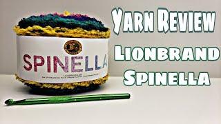 Yarn Review - Lionbrand Spinella Yarn | Bag-O-Day Crochet Video